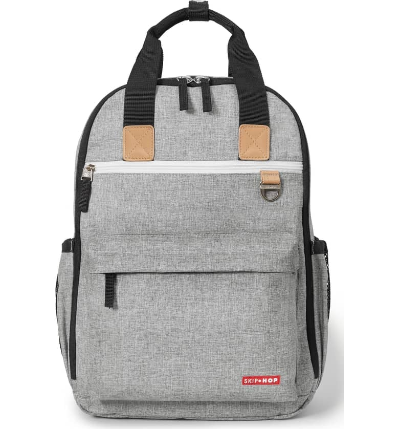 Skip Hop 'Duo Signature' Diaper Backpack