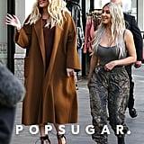 Kim, Kourtney, and Khloe Kardashian Flash Mob Pictures 2018