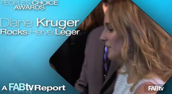 Sugar Shout Out: Diane Kruger on the People's Choice Red Carpet!