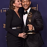 Chrissy Teigen's Reaction After John Legend's EGOT Win 2018