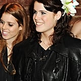 Princess Eugenie flashed a big smile at a 2010 event in London.