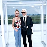 They're Both Good Friends With Karl Lagerfeld Himself