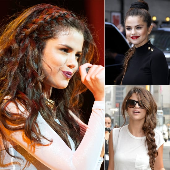 Selena Gomez Braided Hairstyles - Braids