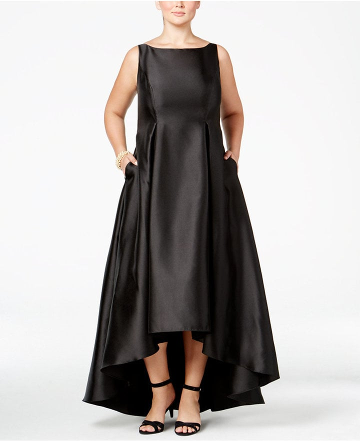 Adrianna Papell High-Low Ball Gown | Plus Size Wedding Guest Dresses ...