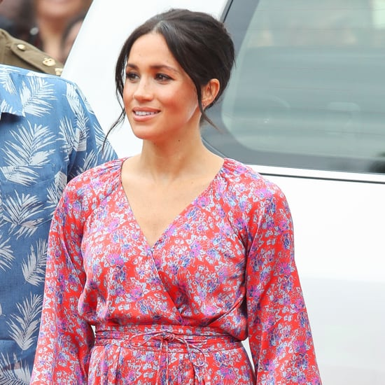 Meghan Markle Wears Figue Ruffle Dress in Fiji October 2018