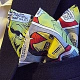 Marvel Superheroes Comic Book Print Pocket Square With Hand-Rolled Hems ($24)