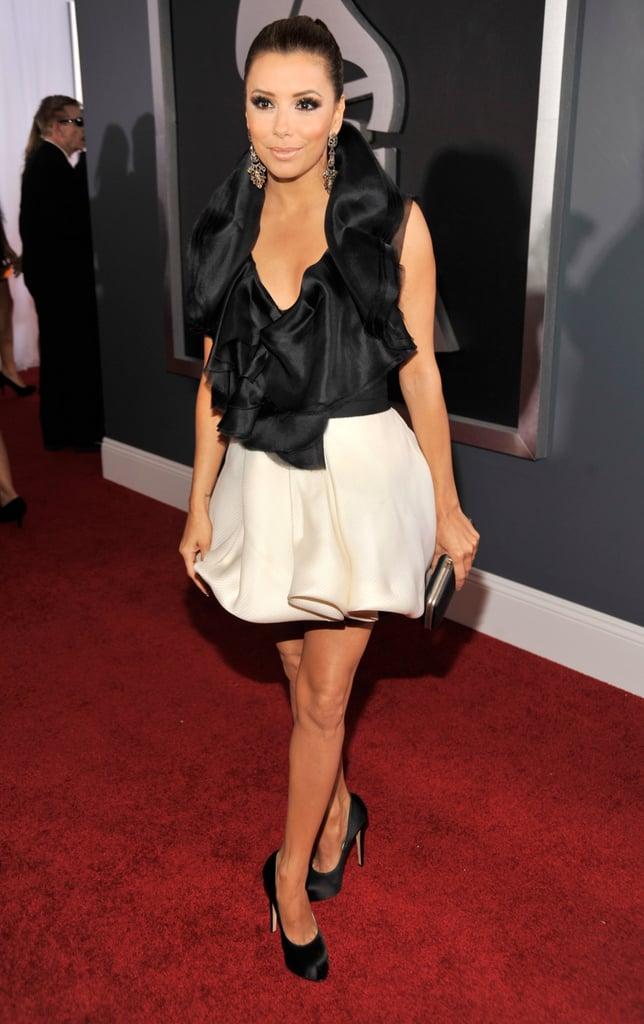 Eva Longoria Goes Glam For the Grammys!