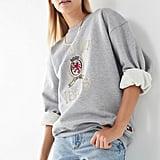Tommy Jeans Crest Crew-Neck Sweatshirt