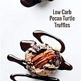 Low-Carb Pecan Turtle Truffles