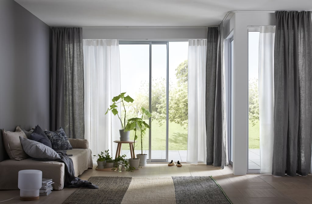 Swap: Heavy Curtains for Sheer Finishes