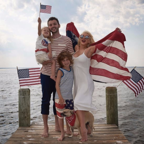 Celebrity Parents and Kids on the Fourth of July 2017