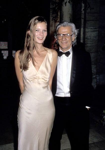 1993: With Richard Avedon