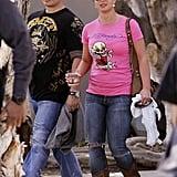 Britney Spears Wearing Ed Hardy