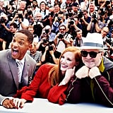 Will Smith, Jessica Chastain, and Pedro Almodovar