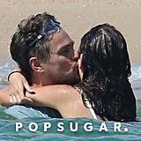 Leonardo DiCaprio and Camila Morrone Kissing in France 2018