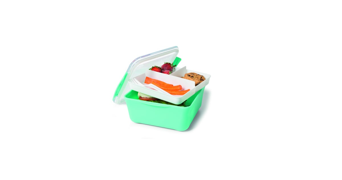 Kmart Square Lunch Container With Tray 5 Containers For