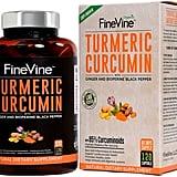 FineVine Turmeric Curcumin With BioPerine Black Pepper and Ginger