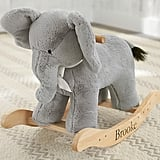 Nursery Elephant Plush Rocker