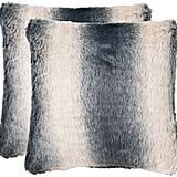 The Well Appointed House Faded Grey Ombré Accent Pillow