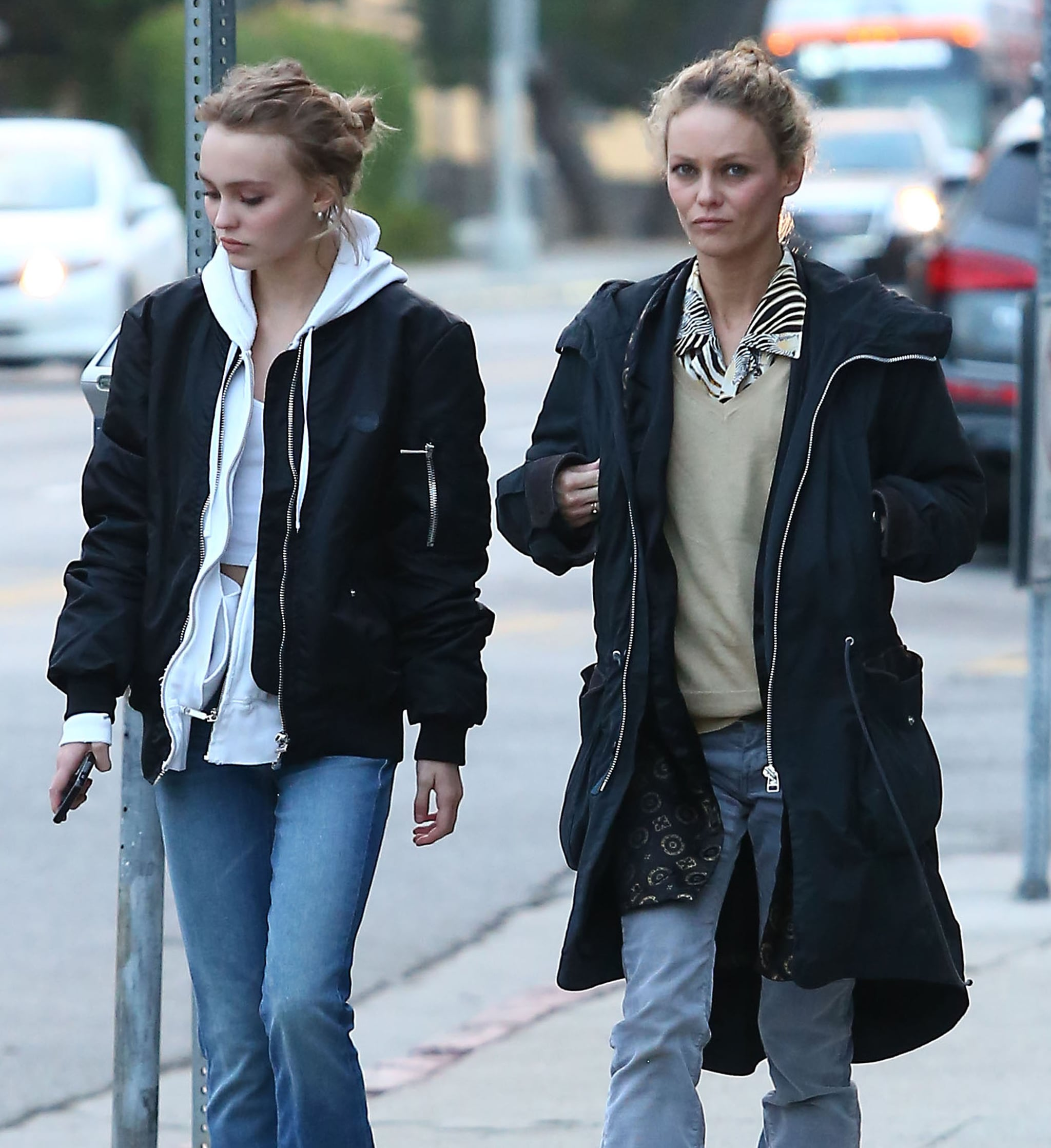 Vanessa Paradis and Lily-Rose Depp Shopping in LA 2016 | POPSUGAR Celebrity