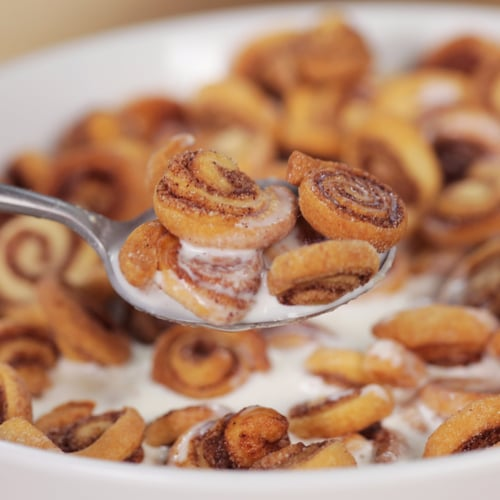 Mini Cinnamon Roll Cereal