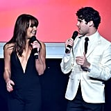 Lea Michele and Darren Criss took the stage together at Family Equality Council's awards dinner in LA on Saturday.