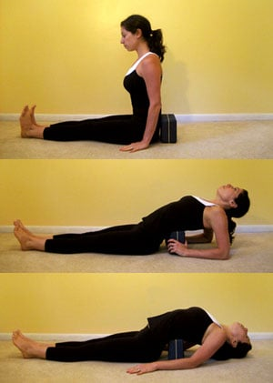block work lowerback release  popsugar fitness