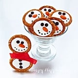 Frosty the Snowmen Pretzels