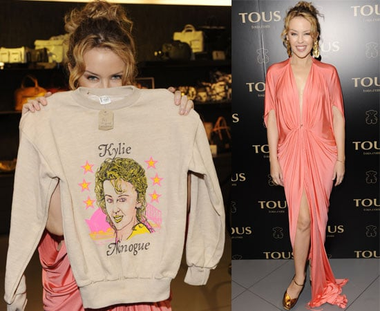 Pictures of Kylie Minogue at Tous Party
