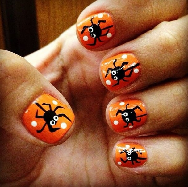 DIY Halloween Nail Art Ideas | POPSUGAR Beauty