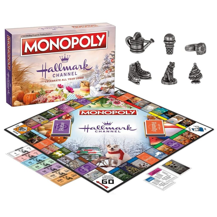 Christmas Board Games 2019.Where To Buy Hallmark Monopoly Game Popsugar Entertainment