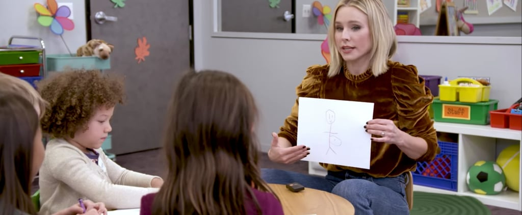 Kristen Bell Talking to Kids About Mums Drinking Wine