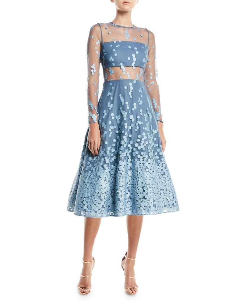 Alexis Aliza Dress | Kate Middleton\'s Jenny Packham Blue Dress ...
