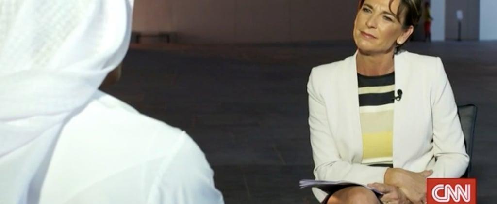 لقاء قناة السي إن إن حول افتتاح اللوفر أبوظبي