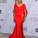 Laverne Cox at the 2019 SAG Awards
