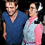 Rob couldn't help but laugh at Katy's funny costume at the 2010 Teen Choice Awards.