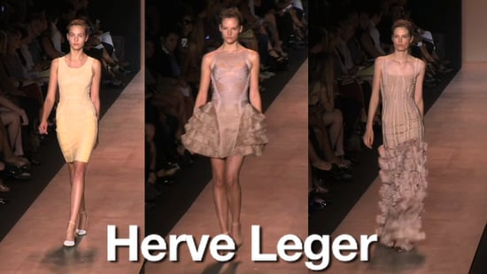 Spring 2011 New York Fashion Week: Herve Leger 2010-09-09 15:01:50