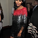 Kerry Washington hit the GQ Men of the Year party in a sparkling dress.