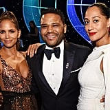 Pictured: Halle Berry, Anthony Anderson, and Tracee Ellis Ross