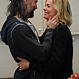 Anson Mount and Radha Mitchell in Red Widow.