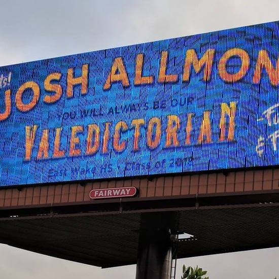 Dad Got His Son a Billboard For Being the Valedictorian