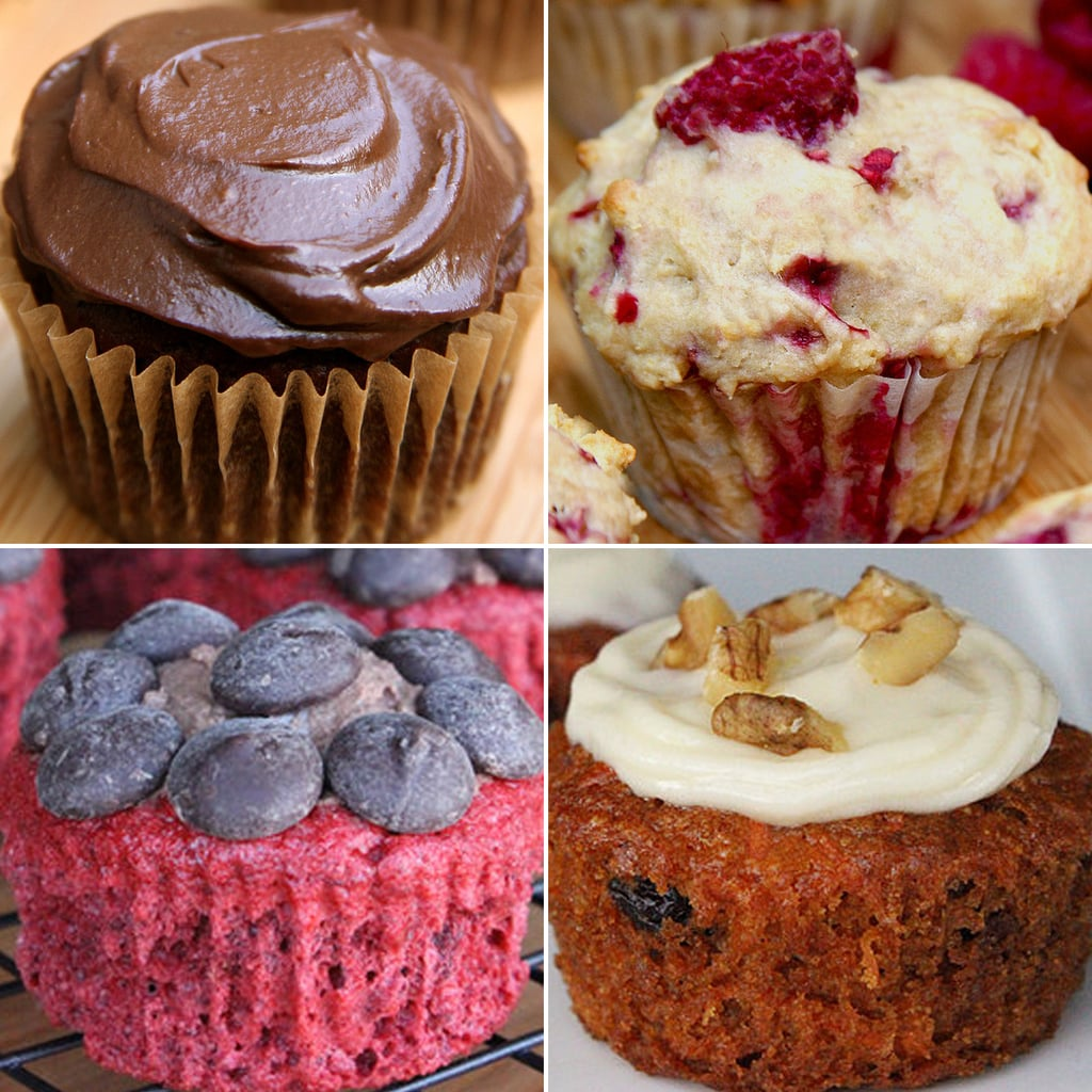 Healthy, Low Calorie Cupcakes And Muffins