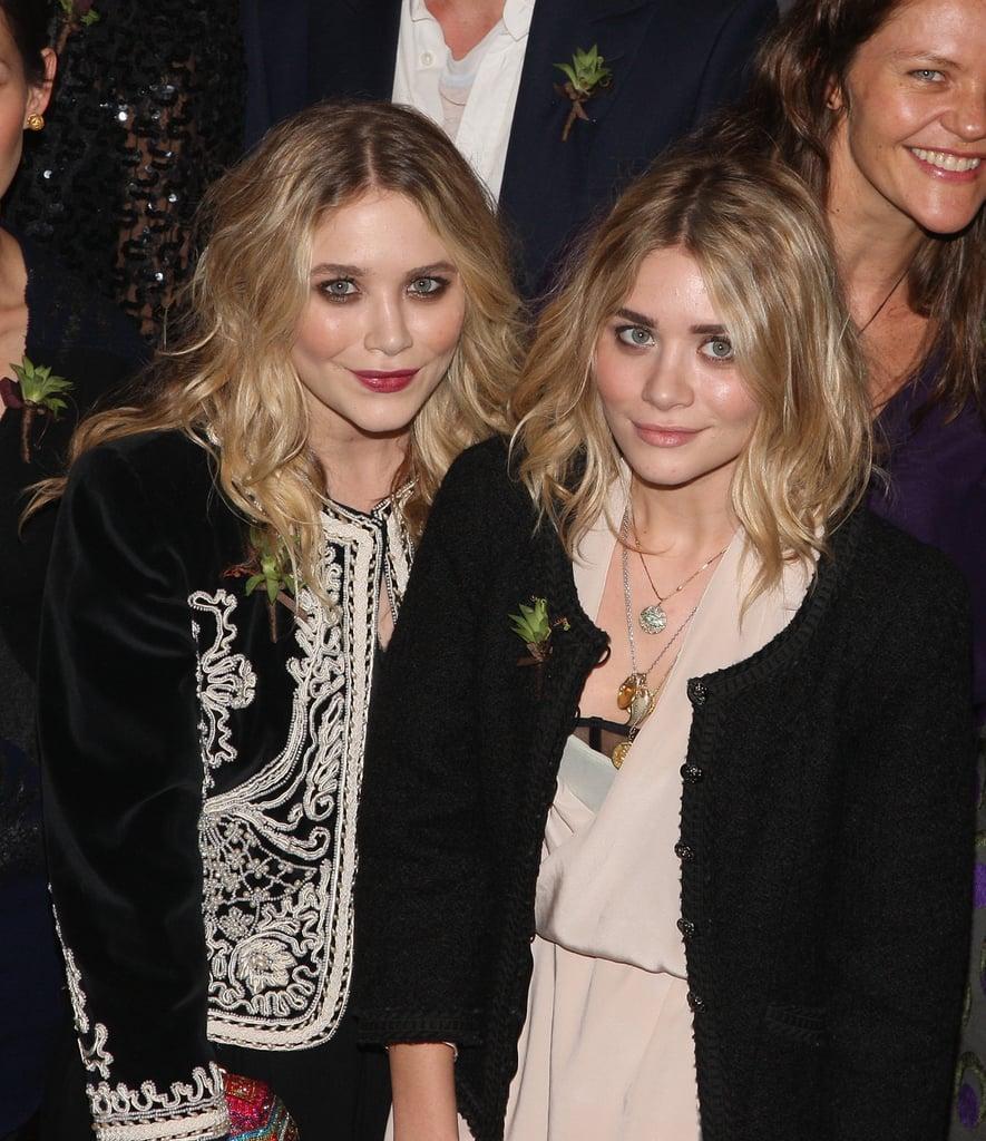 Mary-Kate and Ashley Olsen at CFDA