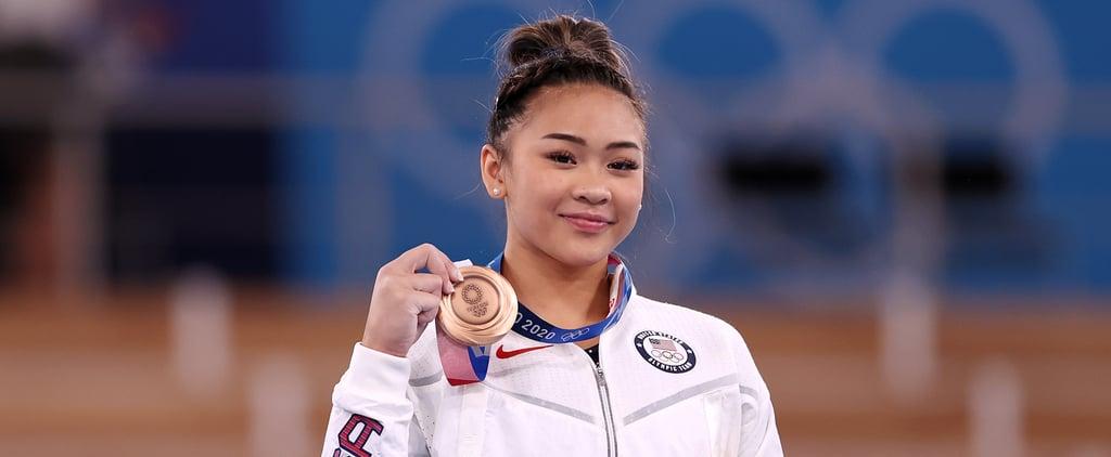 12-Year-Old Fan Gets Emotional Meeting Sunisa Lee in NYC