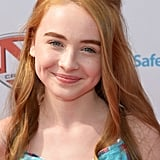Sabrina Carpenter With Red Hair in 2012