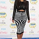 Kim Kardashian at the Teen Choice Awards