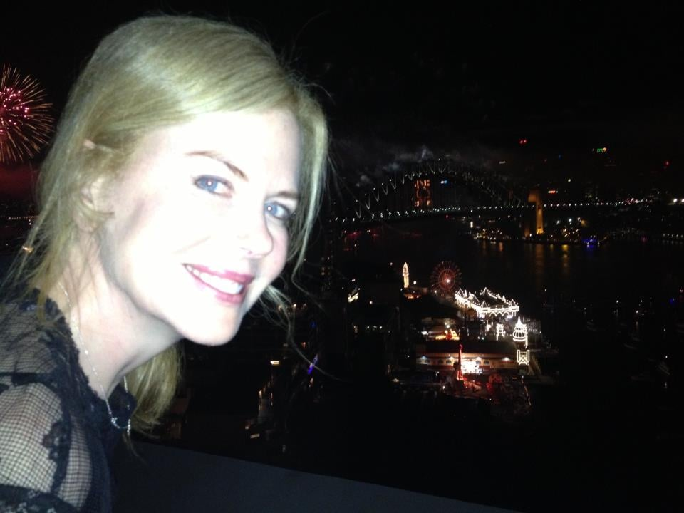 Nicole Kidman wished her fans a happy new year from Australia.  Source: Facebook user Nicole Kidman