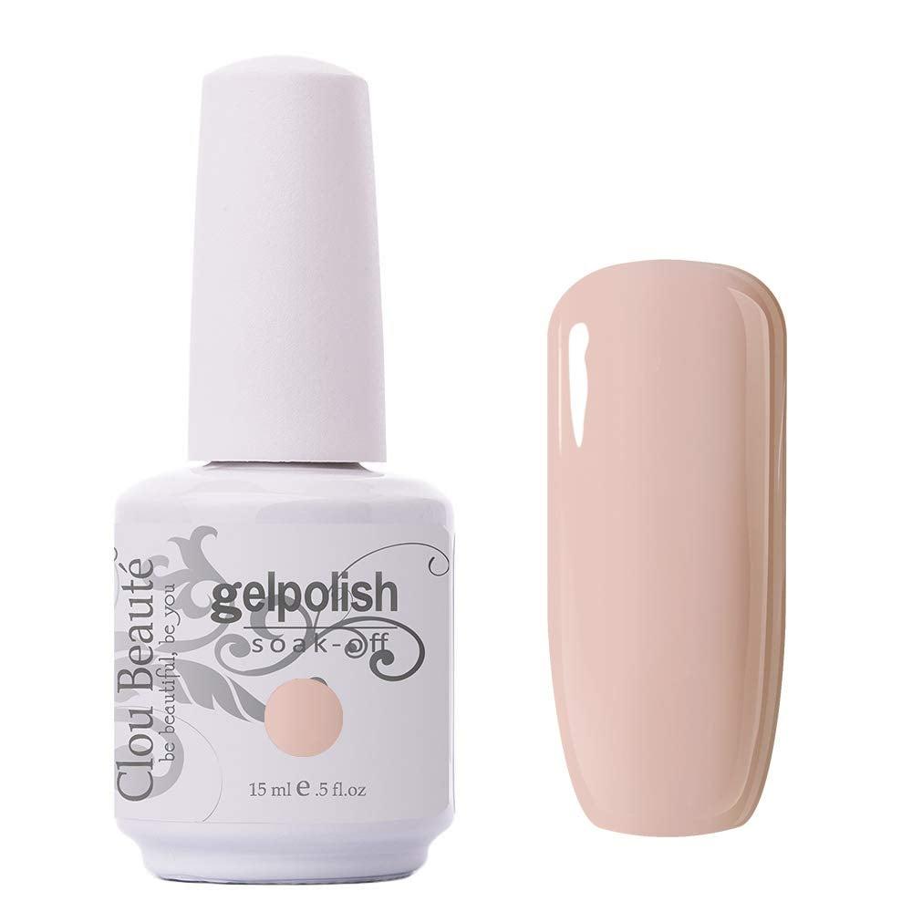 Clou Beaute Gelpolish in Candy Nude N10