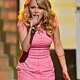 Hollie Cavanagh is one of the youngest contestants this year.