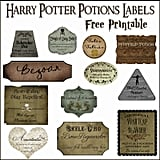 Print Out Potions Labels